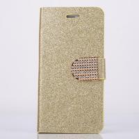 "For Iphone 6 Plus 5.5"" Luxury Wallet diamond glitter design Magnetic Holster Flip Leather Case Cover D1362-D"