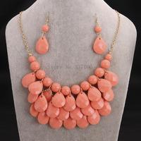 FS001-F New Style fashion big star choker jewelry statement necklace women's accessories