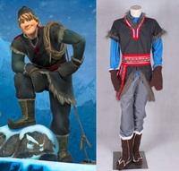 snow Prince Kristoff Bjorgman Die cosplay costume elsa Anna cosplay costume children kids
