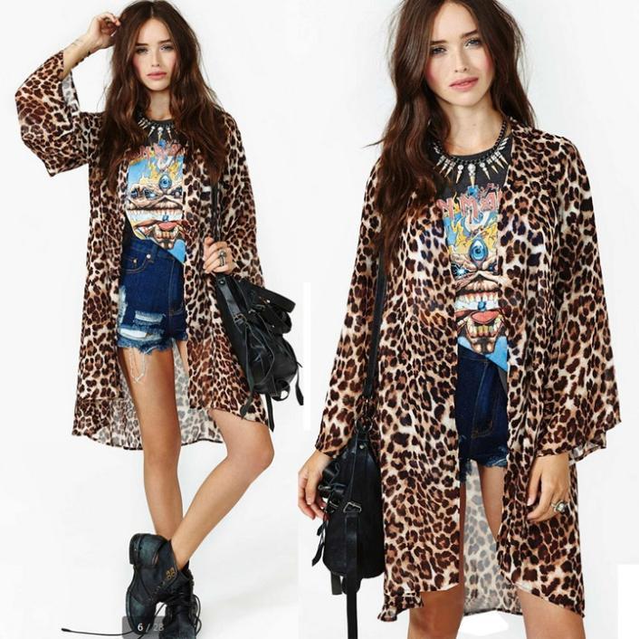 Женские блузки и Рубашки Chiffon blouse 05205 long sleeve shirt women