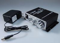 Lepai LP-2020A+ Tripath Class-T Mini Power amplifier 20Wx2 with power adapter
