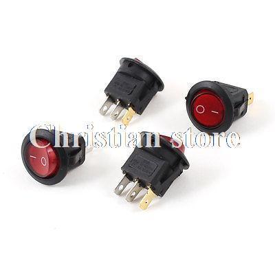 Кулисный переключатель Rocker Switches 6A 250VAC 10 125VAC SPDT /3pin 10