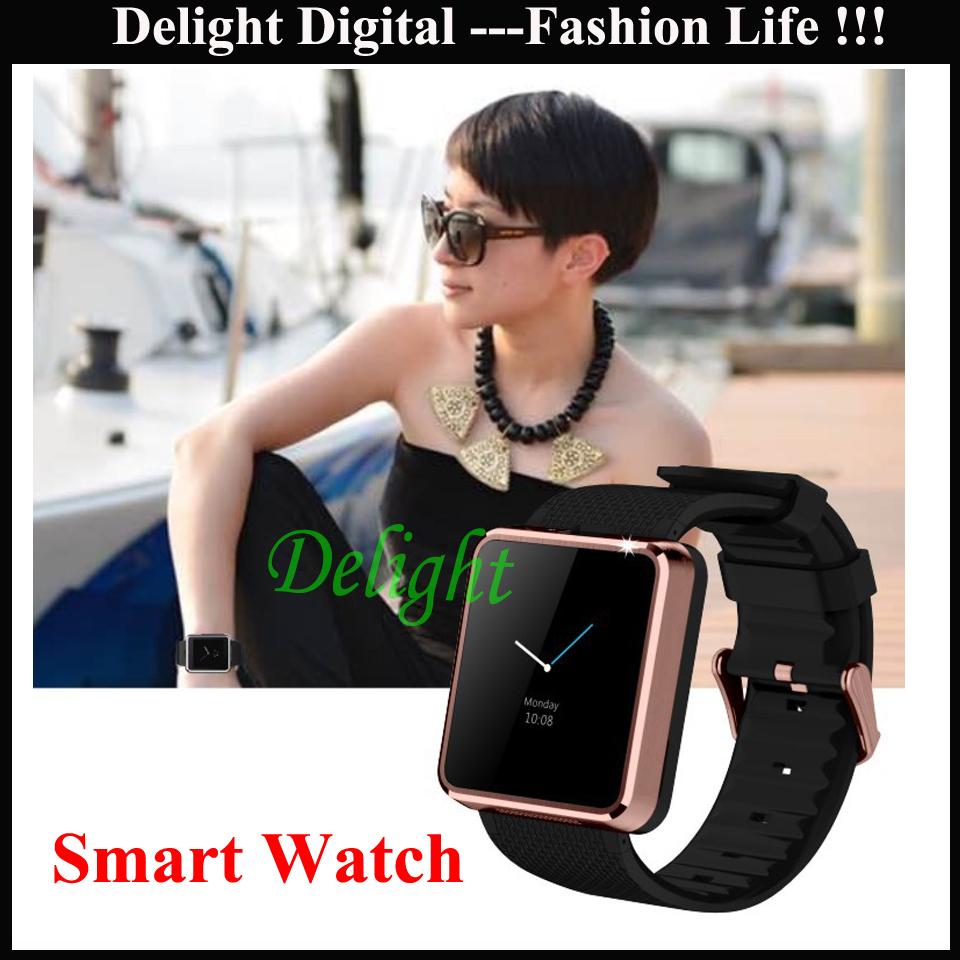 New Fashion Bluetooth Camera Phone Watch Wireless Relogio Inteligente Celular Android Phone Watch (DL-BW095)(China (Mainland))