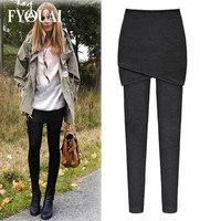 FYOUAI NEW 2014 European Style Women pants Leggings Autumn Winter Cotton Pants Fashion Slim Casual Women Pants High Quality