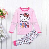 1 PC Retail 2014 New Arrival Girls Pajamas Baby Peppa pig Pyjamas Kids Sofia Printed Sleepwears Pijama Kids Clothing set