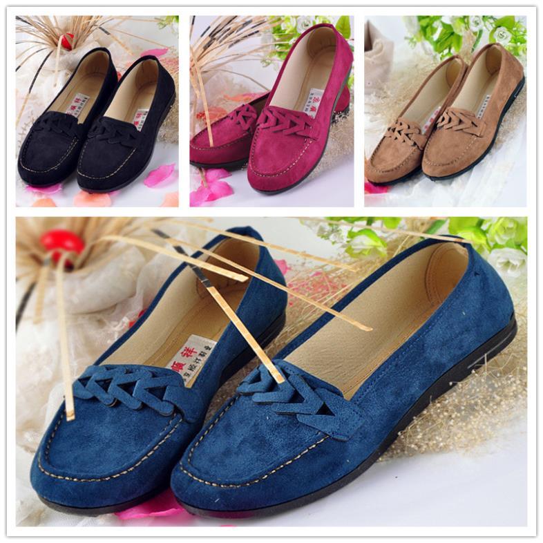 Old Peking Bowknot Women's Shoes,Cotton Cloth Chinese Traditional Women's Flat,Old Beijing Comfortable Soft Walking Women Flat(China (Mainland))