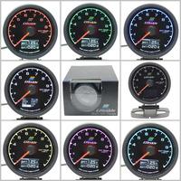 Gre**y Gauge EXT Temp Gauge 7 Light Color LCD Display With Voltage EGT Gauge 60mm 2.5 Inch With Sensor Racing Gauge