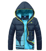 winter women coat 2014 new brand fashion jacket luxury overcoat warm thicken down-cotton slim parka plus size Free shipping