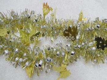 Бесплатная доставка новогодняя мишура украшения ну вечеринку мишура свадебное мишура фестиваль украшение мишура