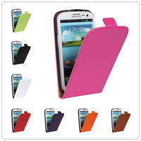 For Samsung Galaxy S3 i9300 Case High quality wallet design Magnetic Holster Flip Leather Hard Cases Cover Protect  B214-A