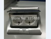 European floor socket