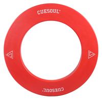 CUESOUL Professional Whole Piece Dartboard Surrounds, Dartboard Protector Red