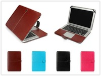 Laptop Shell Full Protective Leather case,Solid Color Pu Leather Case For Macbook Air 11.6 inch and 13.3 inch,free shipping