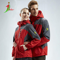 Top quality jacket lovers outdoor jacket windproof jacket two clothes brand sports jacket two sets removable fleece liner OS0005