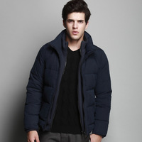 New Men's Down jacket With Hood 90% Duck Down Winter Overcoat Plus Size Outwear Winter Coat Free Shipping Wholesale And Retail