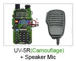 UV-5R (Camouflage) UU BAOFENG Radio+Speaker Mic