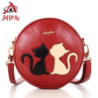 2014 new brand fashion women handbags retro shoulder diagonal package mini bag