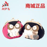 2014 new brand chain bag mini wallet mosaic owl messenger bag mobile phone packet chain bag
