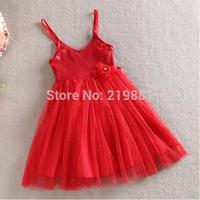 NEW ! 2015 girl sequined dresses , girls dress , princess dress , 5pcs/lot  WMX11