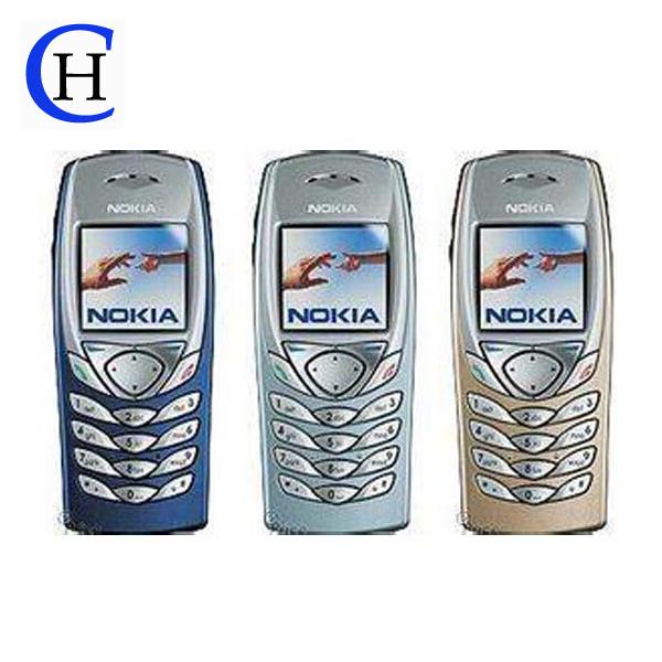 HOT SALE!Free Shipping Unlocked Original Nokia 6100 GSM cheap phone Russian keyboard Polish Hebrew Menu Good quality refurbished(China (Mainland))
