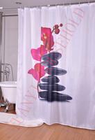 водонепроницаемая ткань коровы Душ шторы лайнера 72 * 72 12 Крюки живописный пейзаж печатных занавес ливня вершины