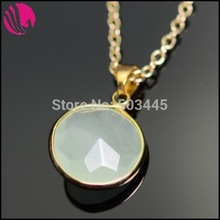 2015 Women Fashion Natural Stone Jewelry Boho Pink Sapphire Green Crystal Amethyst Druzy Quartz Colares Necklace