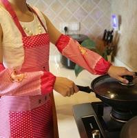 FREE SHIPPING SET of apron+oversleeve fashion restaurant kitchen half apron