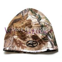 hunting camo readhead beanie hat in Realtree camo Fleece Hat 100% Cotton Plush Hat