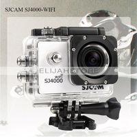 New Fashion SJCAM SJ4000 WiFi Version Action Camera Diving 30M Waterproof Sport Camera 1080P Full HD Car DVRs Gopro Camera Style