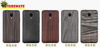Harber Meizu MX4 Print Battery back cover case for Meizu MX4 MX 4 mobile phone wood texture Battery back cover cases+Screen Film
