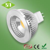 wholesale warm white 500lm high power led mr16 cob 5w