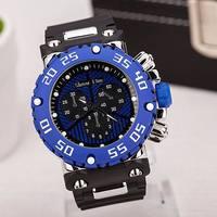 2014 New Brand Watches Men's Rubber Strap atmospheric clock Men's Sports Quartz Watch Men, Military Watches ML0602