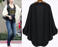Loose Batwing Cardigan Kimono 6XL 5XL 4XL Oversized Woman Clothes Casual Tops Fall Jackets for women Veste Femme 2014