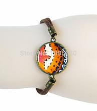 fashion queen bee charm bracelet bangle animal jewelry art picture glass cabochon bangle honey bee bracelets