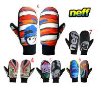 NEFF Men's Ski Gloves Thermal Snowboard Gloves Women Snowmobile Gloves Unisex Snowboarding Gloves 10Colors Size:XS S M L XL