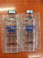 TPU Vodka Transparent Soft Silicone Case Bottle Pattern For iphone 6 4.7 / Plus 5.5 ABSOLUT VODKA Cover Gel Rubber Skin 50pcs