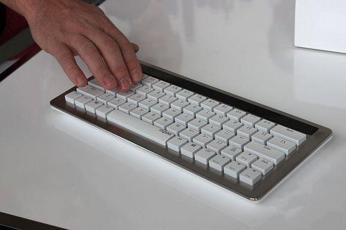 Mechanical Keyboard 5G Wireless Rechargeable Blacklight Keyboard with Multimedia Keys Nano Receiver 100% Original Rapoo KX(China (Mainland))
