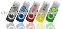 Free shipping (10pcs/lot) 8GB rotating usb flash drive