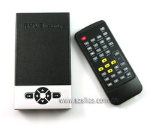 2.5'' RM RMVB SATA HDD PLAYER, AV YPbPr output + free shipping(Hong Kong)