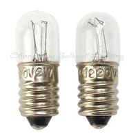 Great! 1000 picecs/lot e10 t10x28  220v 2w miniature lamp a159