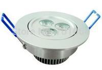 Free shipping: 2pcs/lot 3W 5W 7W led Ceiling Light spotlight AC85-265V epistar led chips LED down light
