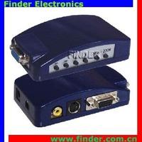 PC VGA to TV Composite RCA Video & Separate S-Video Converter
