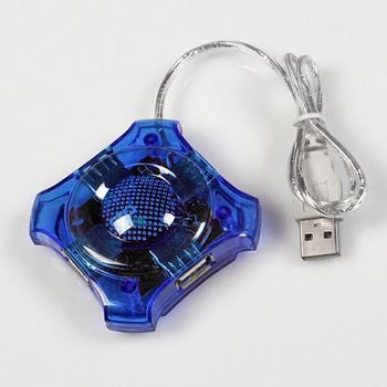 free shipping 4 Port Usb Hub,USB 1.1 Mini usb hub #9342