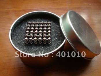 216 pcs Clear Zinc Magnet Neodymium Buckyball Neo Sphere Cube Free Shipping