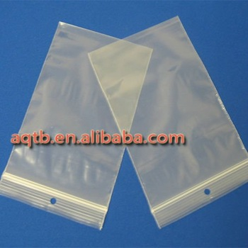 1000PCS 80x120x0.025mm  25mic PE Zip Lock Bag/ resealable bag/ zip seal bag