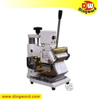Hot stamping machine, tipper for PVC card, Item stock in USA and HongKong.