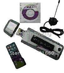 2pcs/lot NEW 2.0 USB DVB-T TV Stick Digital TV HDTV Receiver For PC Laptop