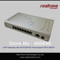 4 FXO ports VoIP Gateway  SIP/MGCP based, SIP FXO/PSTN gateway for Elastix/Asterisk IP PBX