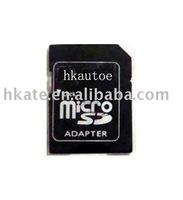 free shipping 1000 pcs/lot brand new micro sd TransFlash TF memory card adapter
