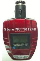 new car bluetooth handsfree kit  mp3 player fm transmitter modulator support SD/mmc/USb  AT-B009A